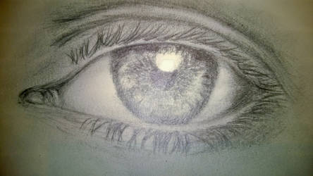 Stock: 'Eye photo' Pencil Version