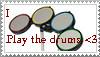 Rockband stamp- Drums by WolfWindWarrior