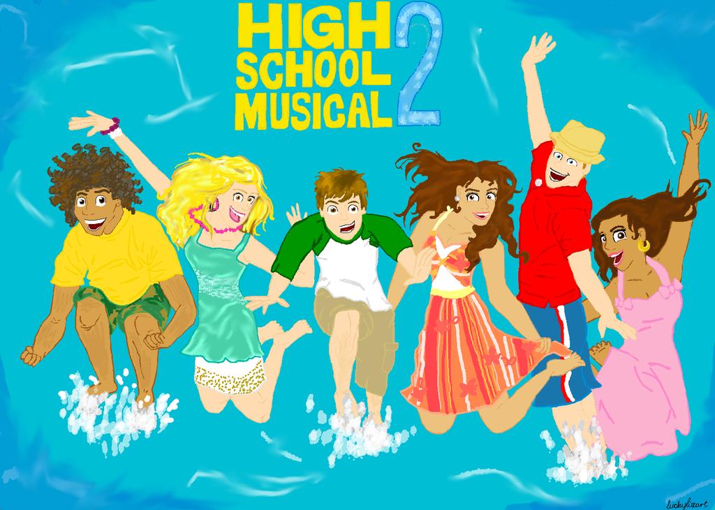 Disney Contest 39 - High School Musical 2 by luckylizart ...