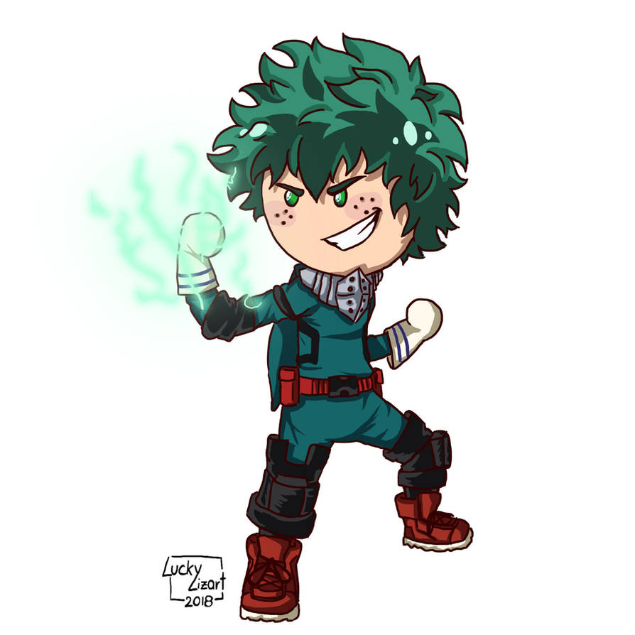 Chibi Deku By Luckylizart On DeviantArt