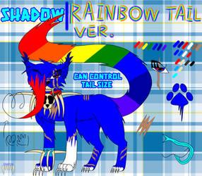 [2021 Fursona ref] YoUr EdGy MaMa(Rainbow tail v.)