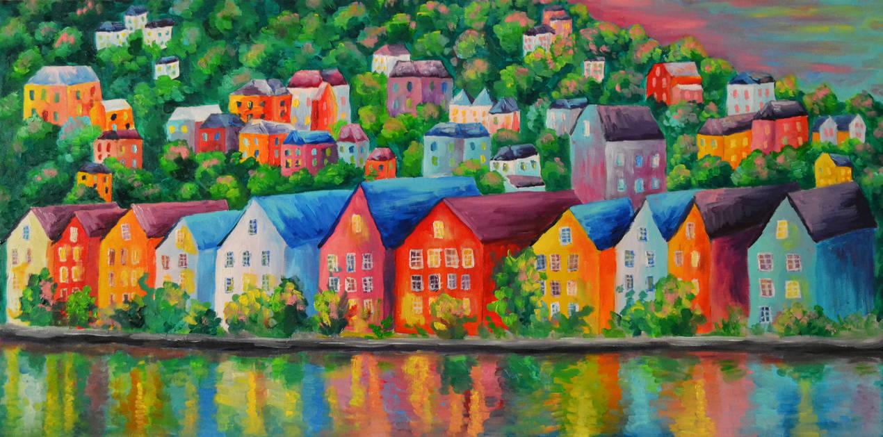 Bergen by Nata-kvlividze