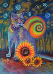Snail cat by Nata-kvlividze