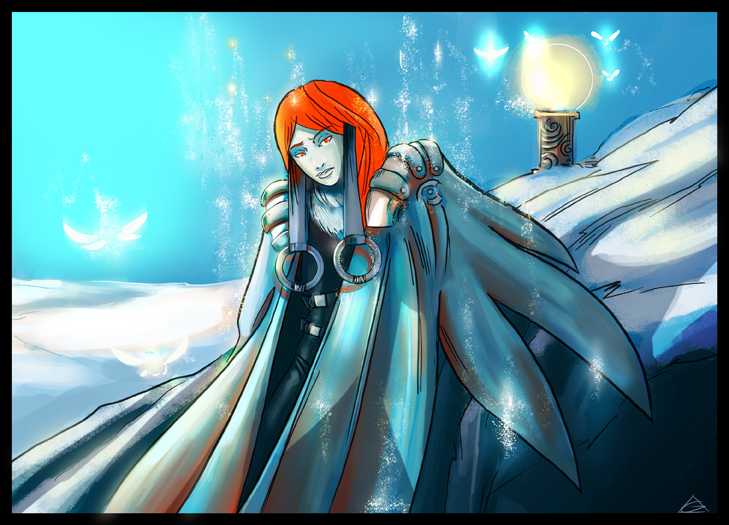 Ice queen by jamga
