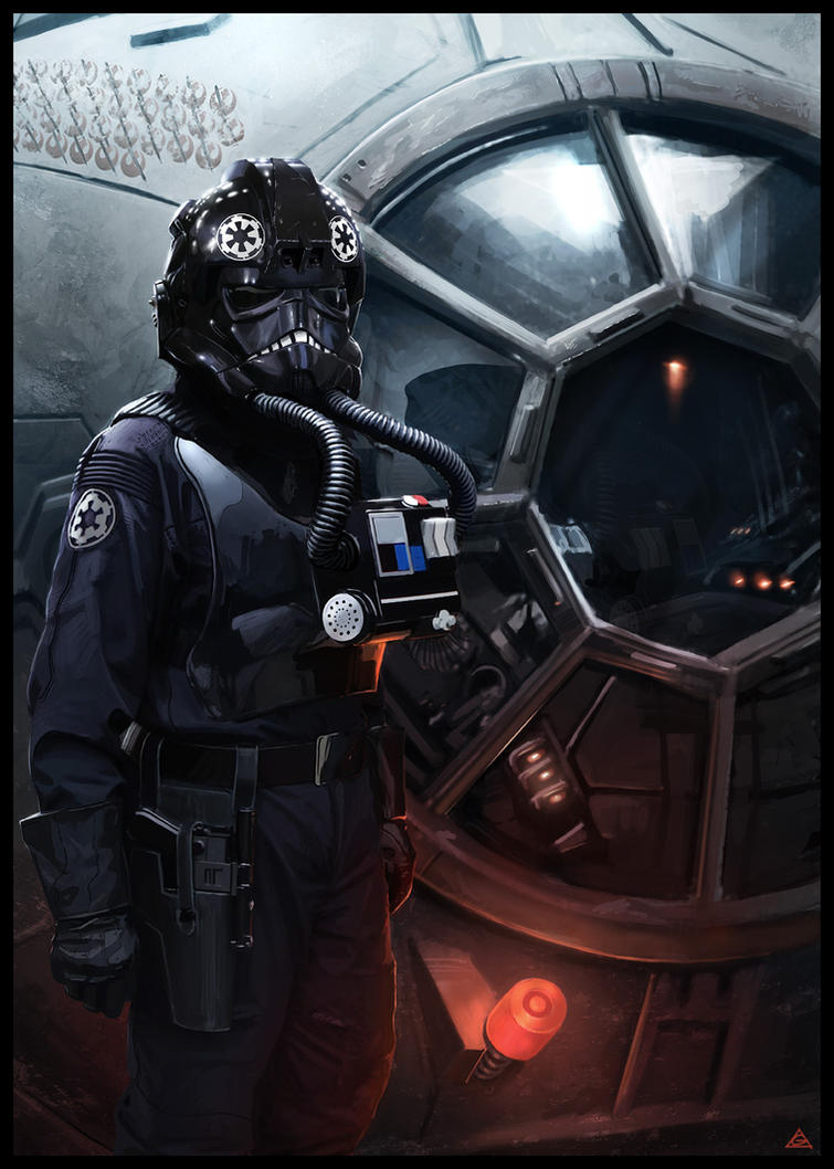 tie fighter pilotjamga on deviantart