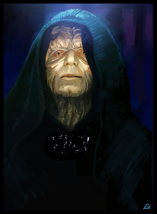Star Wars - Sidious by jamga
