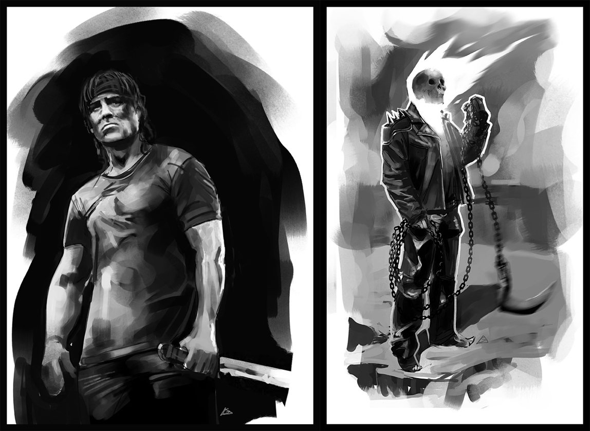 sketches speed paint by jamga