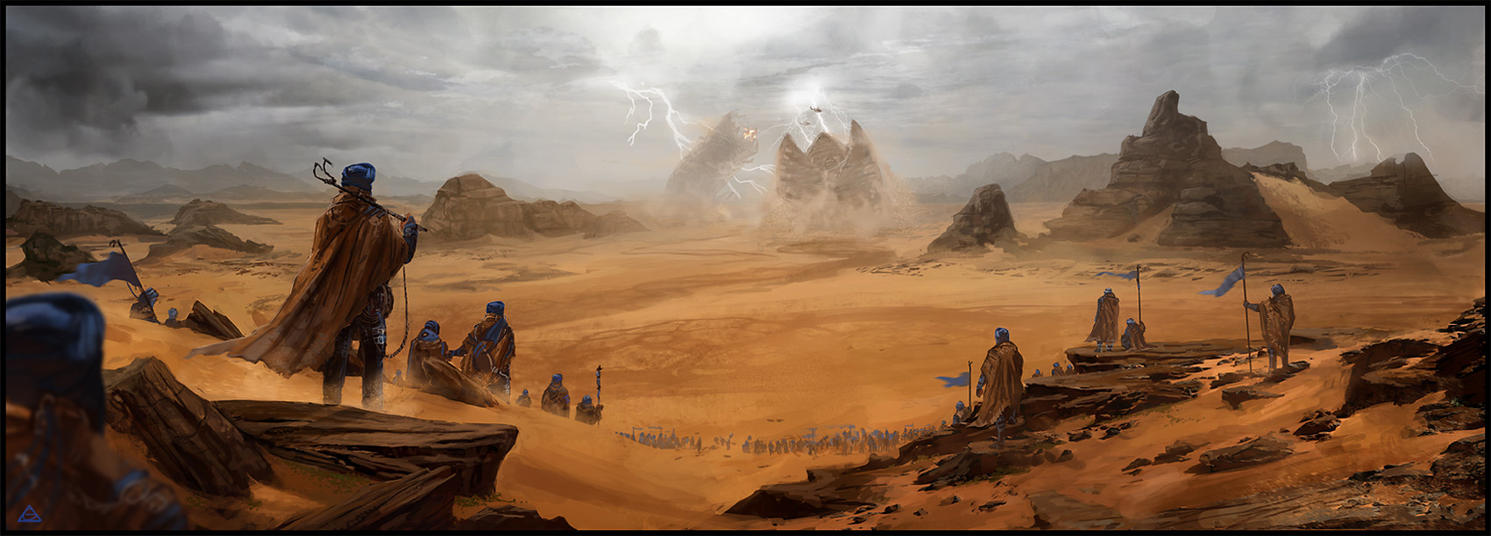 Dune tribute by jamga