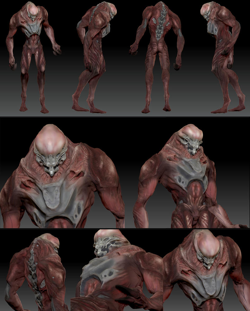 Zbrush concept test polypaint by jamga