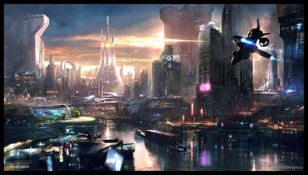 REMEMBER ME - NEO PARIS 2084 concept art