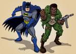 Batman and Grave Digger