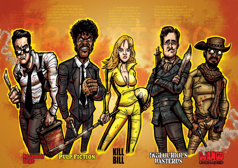 Tarantino by pmason83