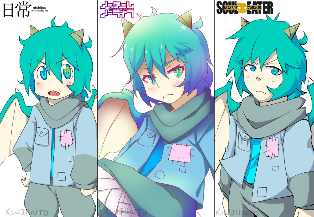 +3 Different Anime Styles+ By Kinjiinto On DeviantArt