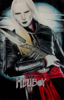 Nuada Poster -colored pencil-