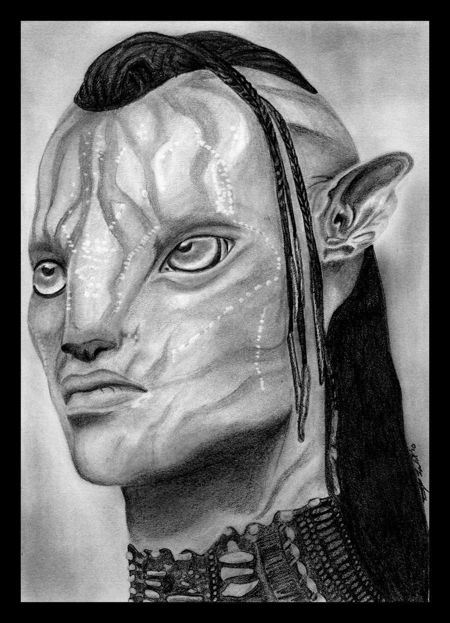 Tsu'Tey of the Omatikaya by Tarotshama