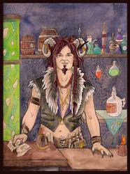 Demon Bartender