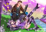 [Commission]: Jason and Cheshire Cat 2 by KatouShinobu