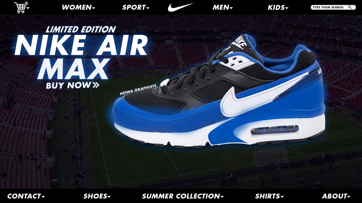 453d64a3cd25e Nike web design by Heiwa-Graphiste on DeviantArt