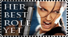 Angelina Croft Stamp by imaginarymagdalena
