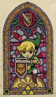 Link Cross Stitch by trufflefunk
