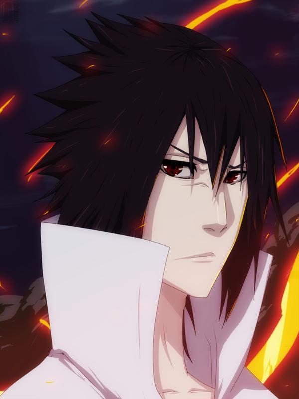 Sasuke Uchiha - Bleach style by aConst