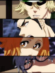 Urahara, Isshin, Masaki, Ishida - Bleach CH535 by aConst
