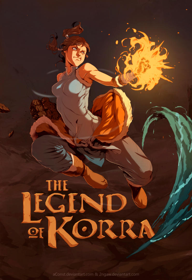 The Legend of Korra by aConst