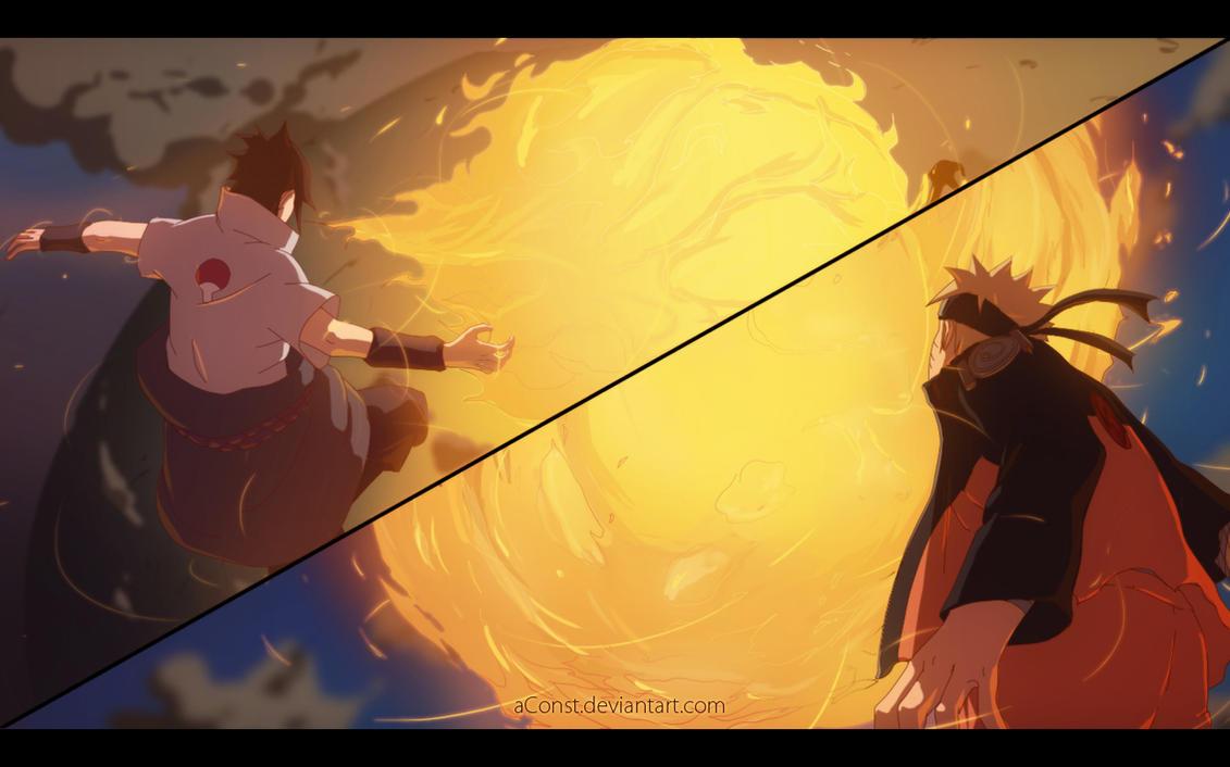 Naruto VS Sasuke - CH695 by aConst