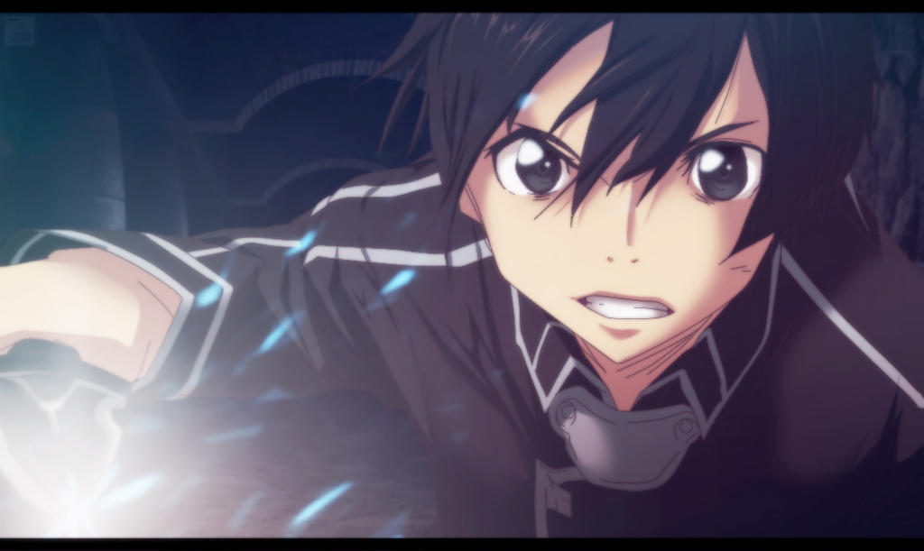 Kirito - Sword Art Online Ranobe by aConst