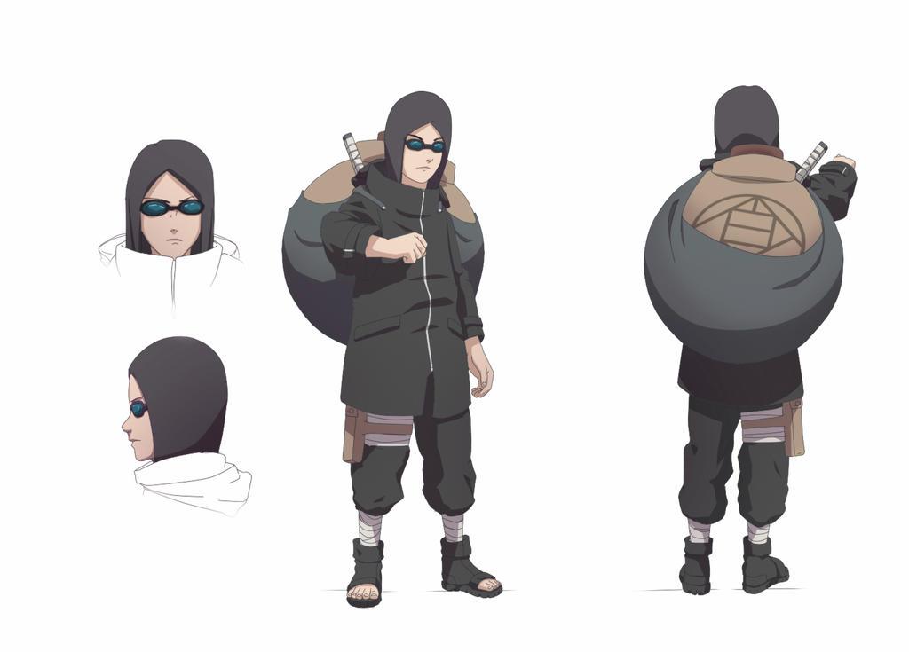 PayPal commission Naruto OC Aburame Shinzo by aConst