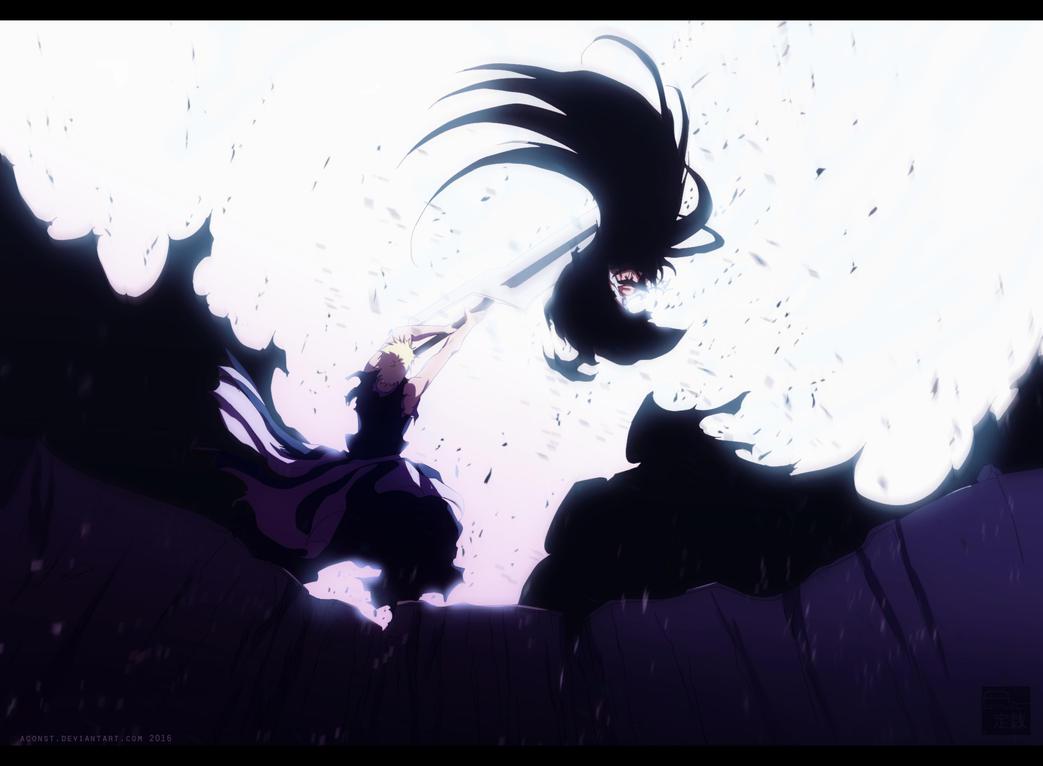 Getsuga Tenshou - Bleach CH683 by aConst