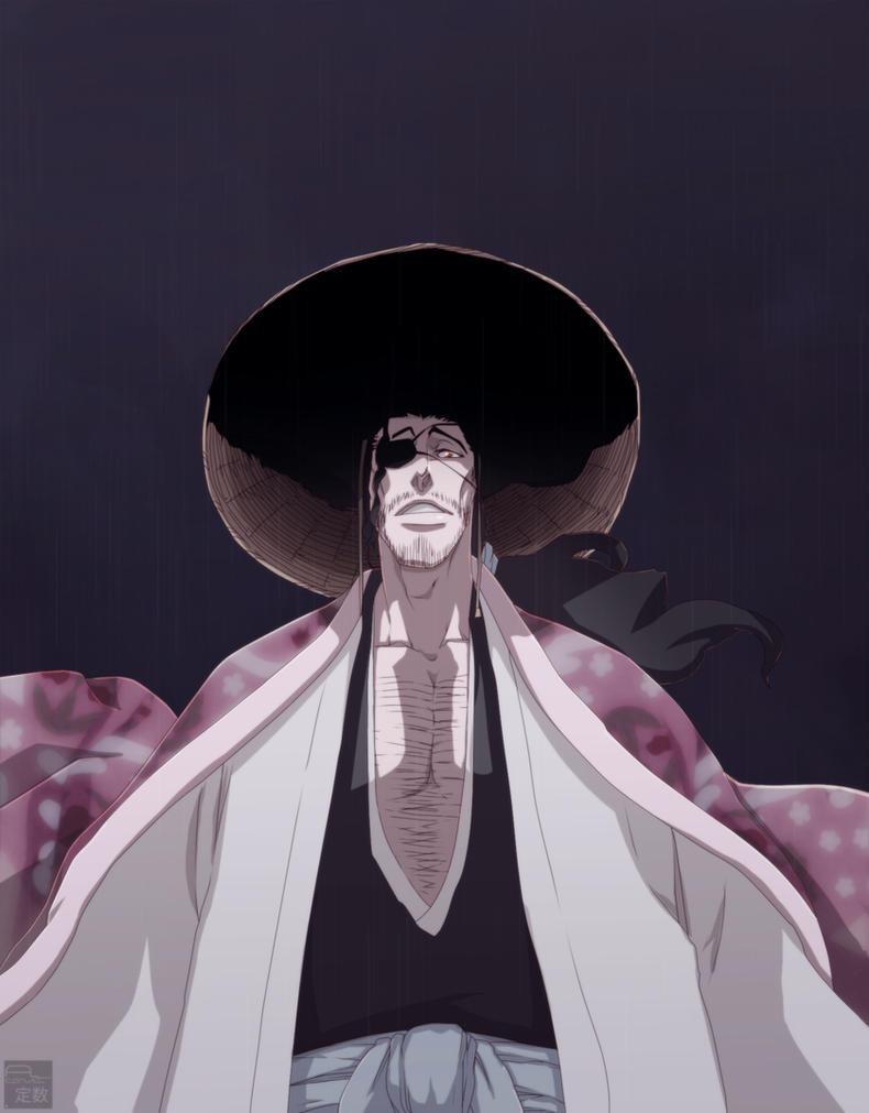 Hyoraku Shunsui  -  Bleach 645 by aConst
