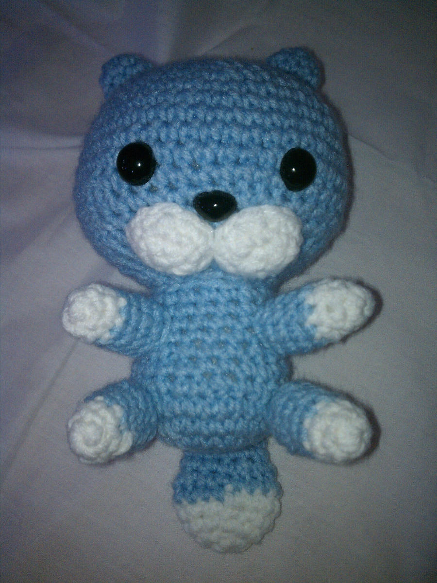 otter crochet amigurumi by VyletMyst on DeviantArt