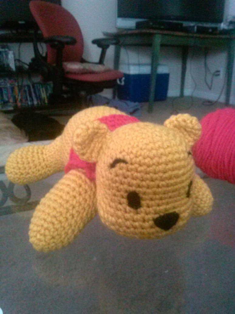 Winnie The Pooh Crochet By Vyletmyst On Deviantart