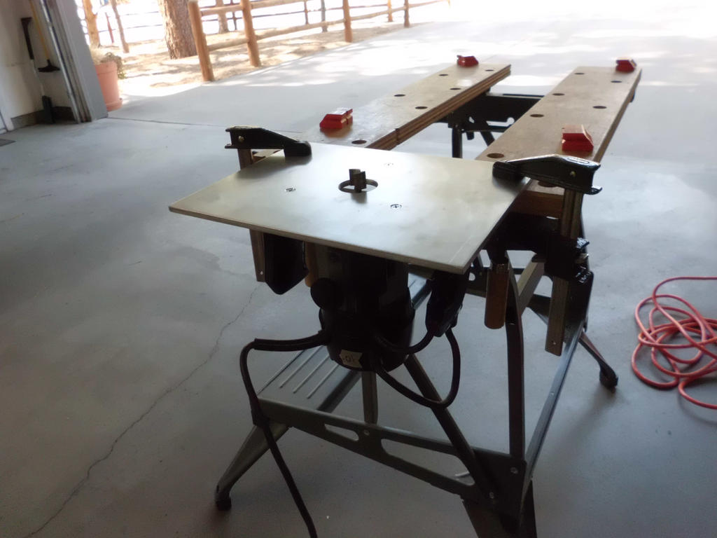 diy router table insert by on deviantart