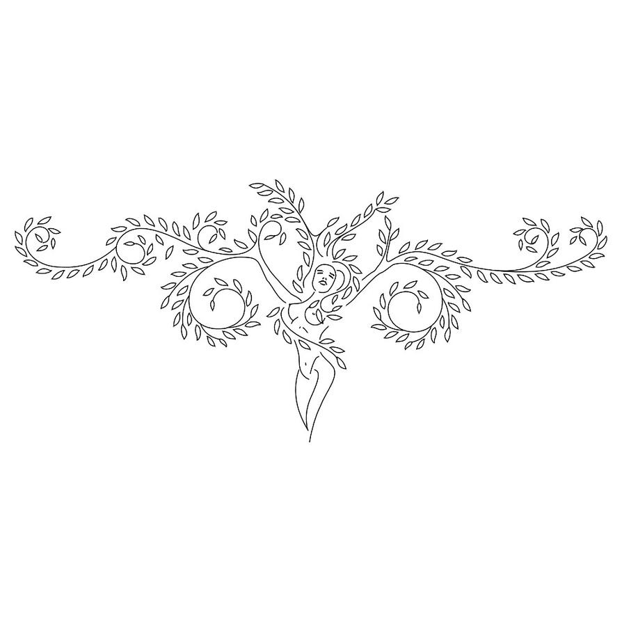 Tree Woman Tattoo By TattooTribes On DeviantArt