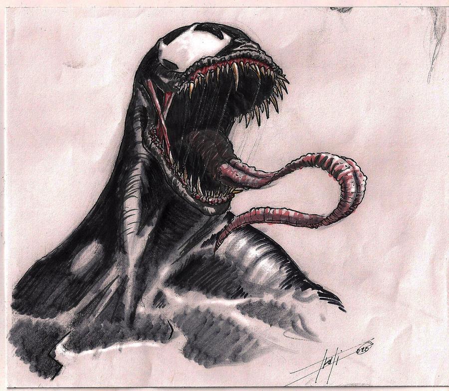venom study by LucaStrati
