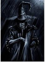 scarecrow noir by LucaStrati