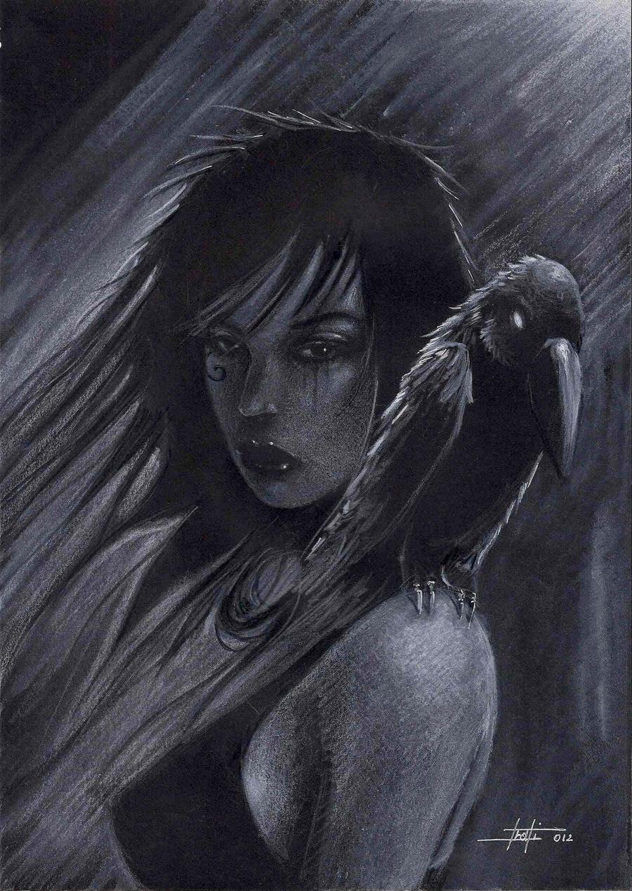 death 1 noir by LucaStrati