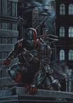 deathstroke on black commission