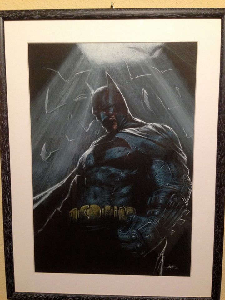 batman commission by LucaStrati