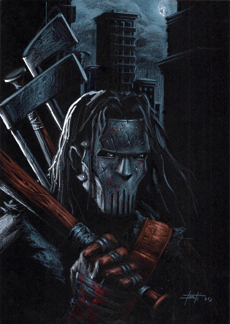 Casey Jones Noir by LucaStrati