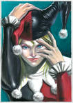 harley quinn color