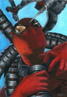 Spider Man VS DOC Octopus by LucaStrati