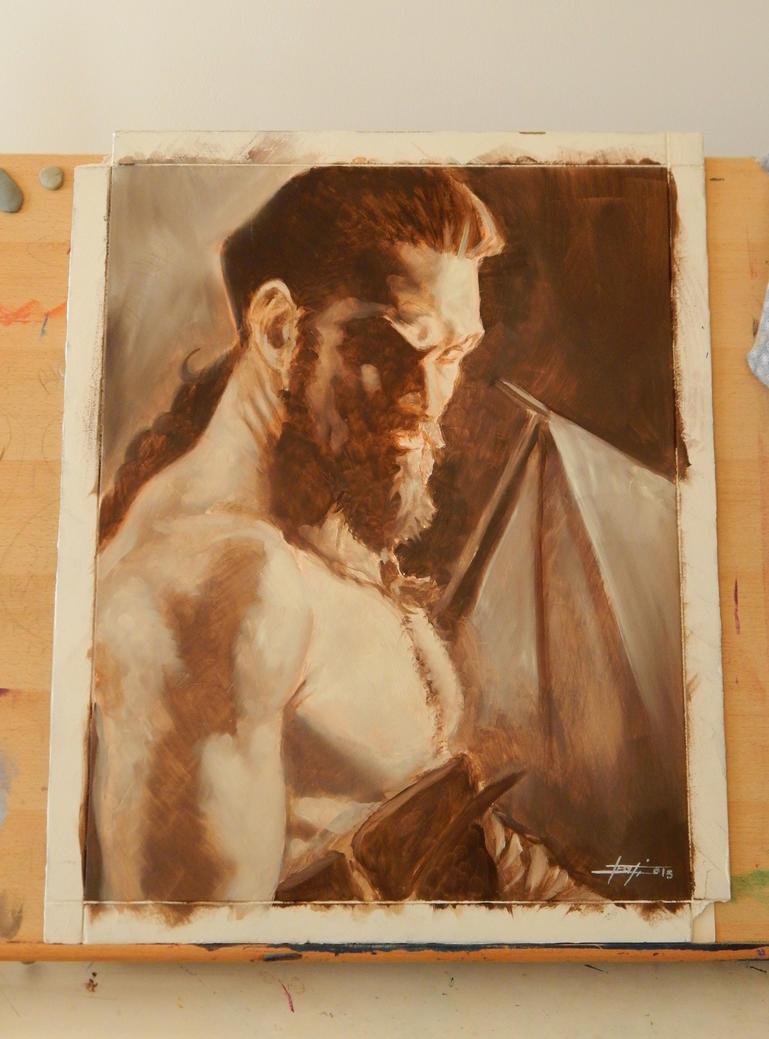 Khal Drogo by LucaStrati