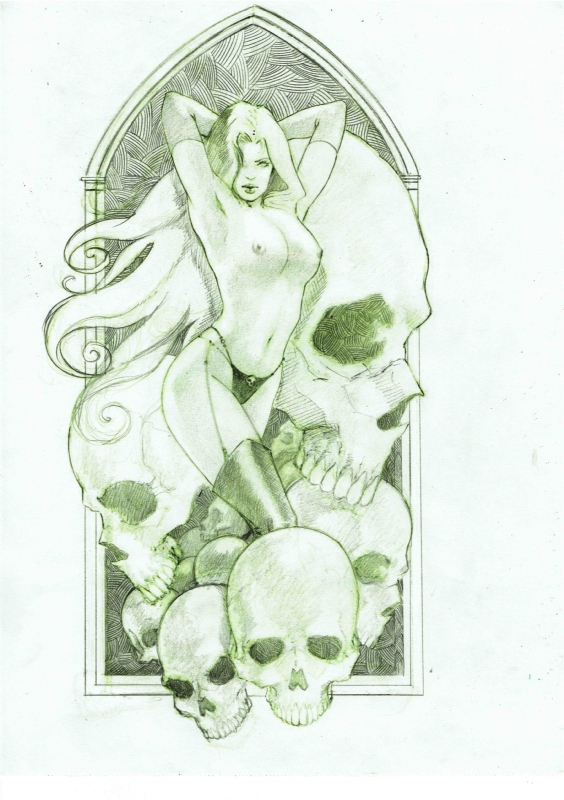 Lady Death by LucaStrati