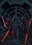 Trio Dark side by LucaStrati
