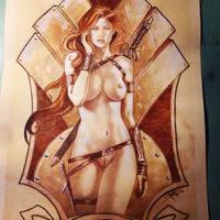 huntress by LucaStrati