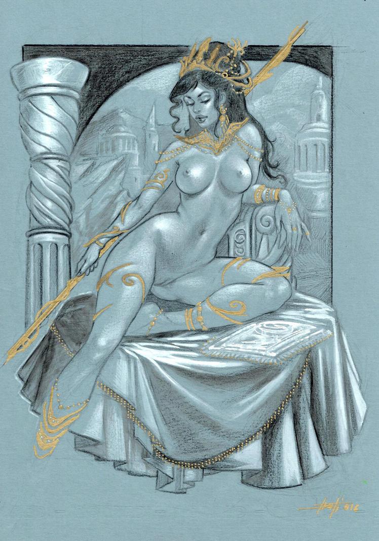Dejah Thoris by LucaStrati