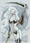 Lady Death copic
